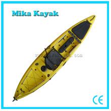 Barcos de pesca profesional con el asiento plegable Sit en Kayak superior con timón