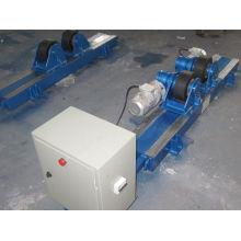 Wr2t Adjustable Welding Turning Rolls / Welding Rotator With Rubber Wheel