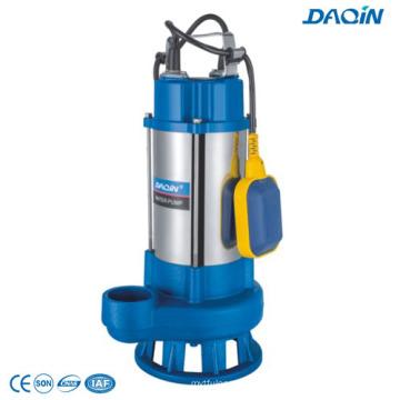Pompes de forage submersibles en acier inoxydable d'eaux usées