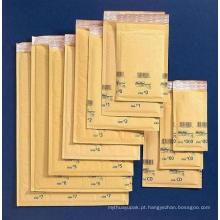 Envelope de bolha artesanal marrom / Envelope personalizado com bolha