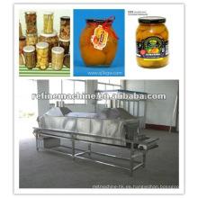 Máquinas de procesamiento de frutas enlatadas Máquina / máquina de exausting de botellas