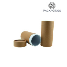 Brown+kraft+paper+cardboard+tube+for+bottles