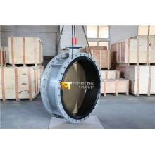 Válvula de mariposa doble brida Dn1100 con ASTM B148 bronce disco (CBF02-TA01)