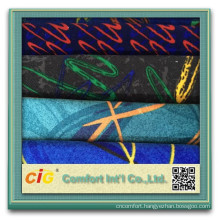 Wholesale Polyester Knitting Printed Auto Fabric
