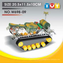 Хорошее качество пластиковые DIY игрушка танк со всеми отчет по испытанию