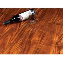 Fantastischer Rotwein-Akazienholz-Bodenbelag