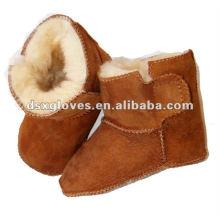 Venta al por mayor Velcro Baby Winter Boots