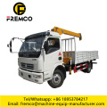 Truck Mounted Crane with Self Tipping Box
