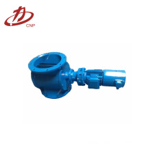 Industrial dust hopper unloading valve