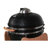 Home Garden Supplies Wooden Table Charcoal Grill