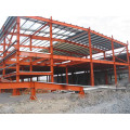 Steel Platform, Fabricated Steel Framing Building (SS-15250)