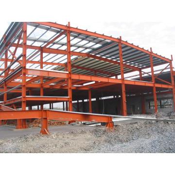 Steel Platform, Fabricated Steel Framing Building (SS-15250)