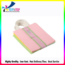 China Manufacturing Recycled Paper Handle Bag