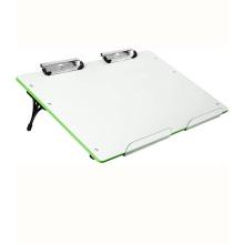 Pizarra blanca de borrado en seco magnético de escritorio portátil