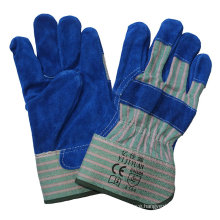 CE EN388 Cowhide Split Leather Cut Resistant Hand Protection Working Gloves