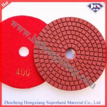 100 milímetros de diâmetro 3 milímetros espessura diamante polimento Pads