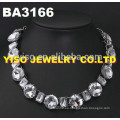 Collar collar de diamantes de imitación