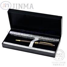 La plus populaire boîte de cadeau avec stylo Super cuivre Jms3042