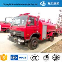 Dongfeng 4 * 2 Water Tank camiones de lucha contra el fuego Price