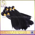 Prémio Natural Remy cabelo humano virgem com emaranhado de cabelos lisos grátis