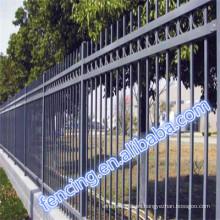 Venta caliente de alta calidad precio de fábrica valla de barra de PVC (fábrica)