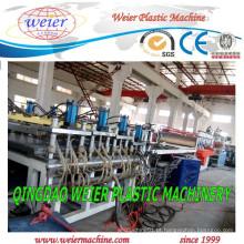 Linha de produção de alta qualidade da placa da folha da espuma do PVC Celuka que expulsa