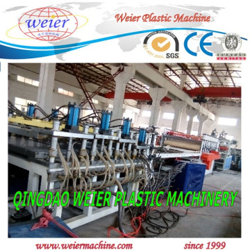 Высокое качество листа доски пены celuka PVC Прессуя производственной линии