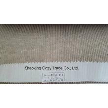 Nouveau tissu de rideau transparent Organza VoIP de rayures de projet populaire 0082114