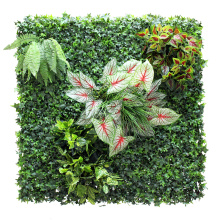 Customize cheap artificial living wall for garden decor