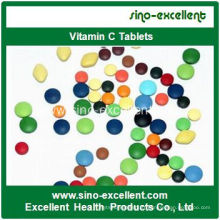 Comprimés à base de vitamine C et anti-fatigue