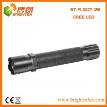 Venta al por mayor Tamaño Pocke 2 * AA Seco Operado por batería Emergencia XPE 3watt Cree mr luz llevó antorcha con función de zoom