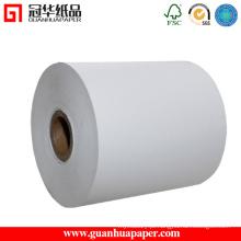 Rolo de papel térmico personalizado de alta qualidade