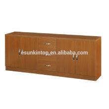 Gebrauchte Büromöbel zum Verkauf, Schrank für Buchlagerstellung, Holzbuchkoffer mit Galss Tür und Schubladen (KB205)