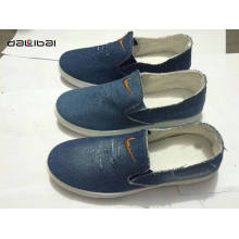 Самое лучшее продавая ботинок холстины хорошего качества хорошего качества дешевый оптовый верхний