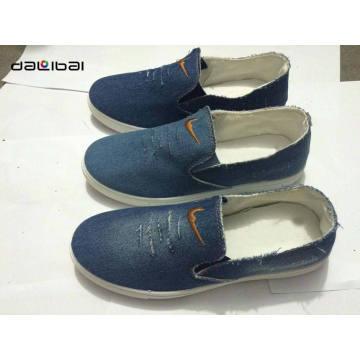 best selling good quality cheap wholesale textile upper canvas shoe