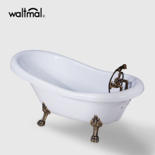 Goodwin Acrylic Clawfoot Tub di White