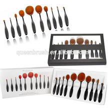 2016 Hot Sale Beauty Accessoire Brosse à dents Brosse à maquillage Oval Shape Cosmetic Brush
