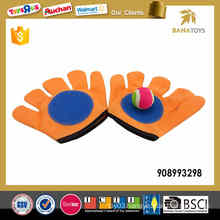 9.5 inches sticky gloves catch ball toy