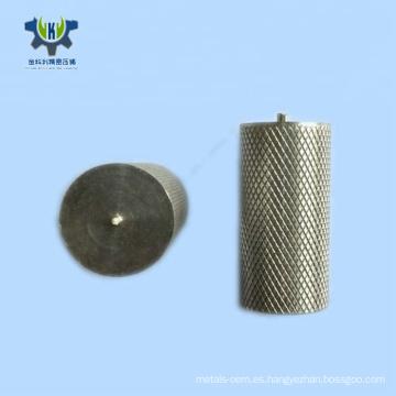 Pieza de torneado de aluminio metal OEM