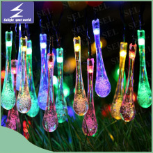 Energía Solar 20-LED de la boda de Navidad de Navidad de Navidad de Año Nuevo