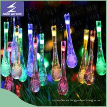 Luz de la Navidad de la secuencia del LED de la energía solar al aire libre
