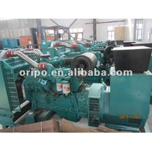 Дизельный генератор с водяным охлаждением с четырехтактным двигателем и бесщеточный генератор переменного тока
