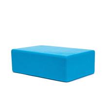 "Personalised 3""x6""x9"" factory direct eco pilates blue meditation workout non-slip anti skid pro yoga brick"