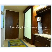 China Tipo porta do celeiro do hotel de Marriott de vidro de deslizamento para o banheiro do hotel