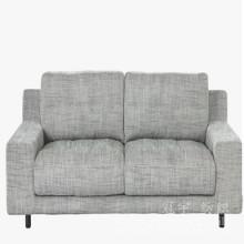 Tissu de lin de polyester collé pour des couvertures de sofa