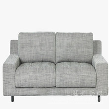 Tecido de linho de poliéster ligado para capas de sofá