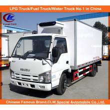 Camion de congélateur de 3 tonnes Isuzu dans le camion réfrigéré par Thermo King