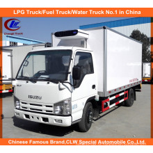 3 Toneladas Isuzu Freezer Truck em Thermo King Caminhão Refrigerado