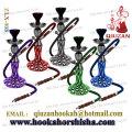 Mittlere Shisha mit Pfau Schwanz Muster Vase