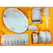 Ensemble de dîner de porcelaine avec le décalque (BC-001)